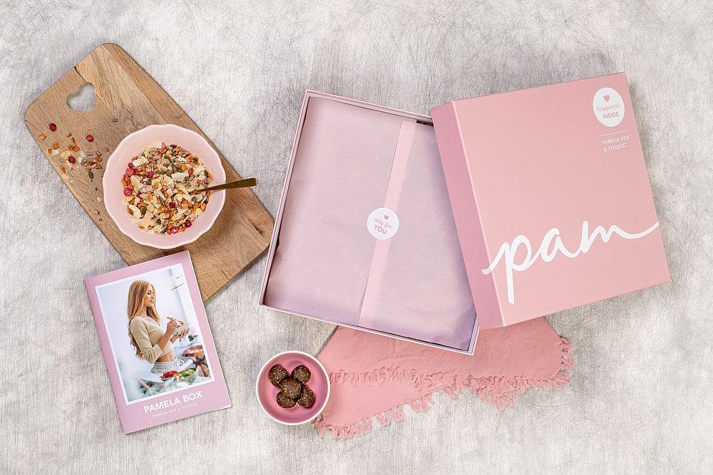 Die Pam Box, eine Kooperation von Foodist mit Pamela Reif.