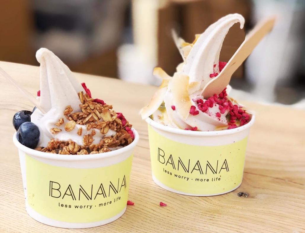 Banana Eis Dänemark