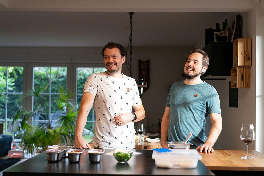 Boris und Oliver Schumacher sind die Gründer von HEIMATHAUFEN und Macher von soap & precede.