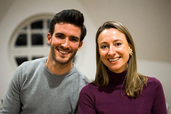 Konstantin Timm und Annemarie Heyl von Kale&Me.