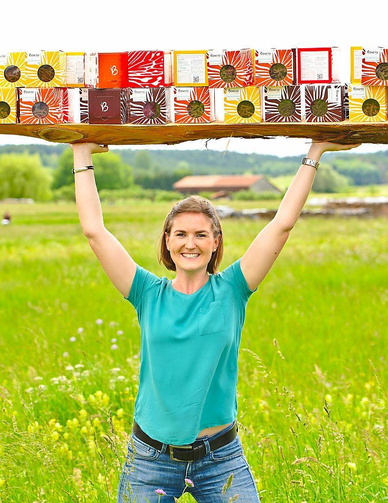 Gründerin Lara Schuhwerk stemmt ihr Startup Beneto im Alleingang (Foto: Beneto)