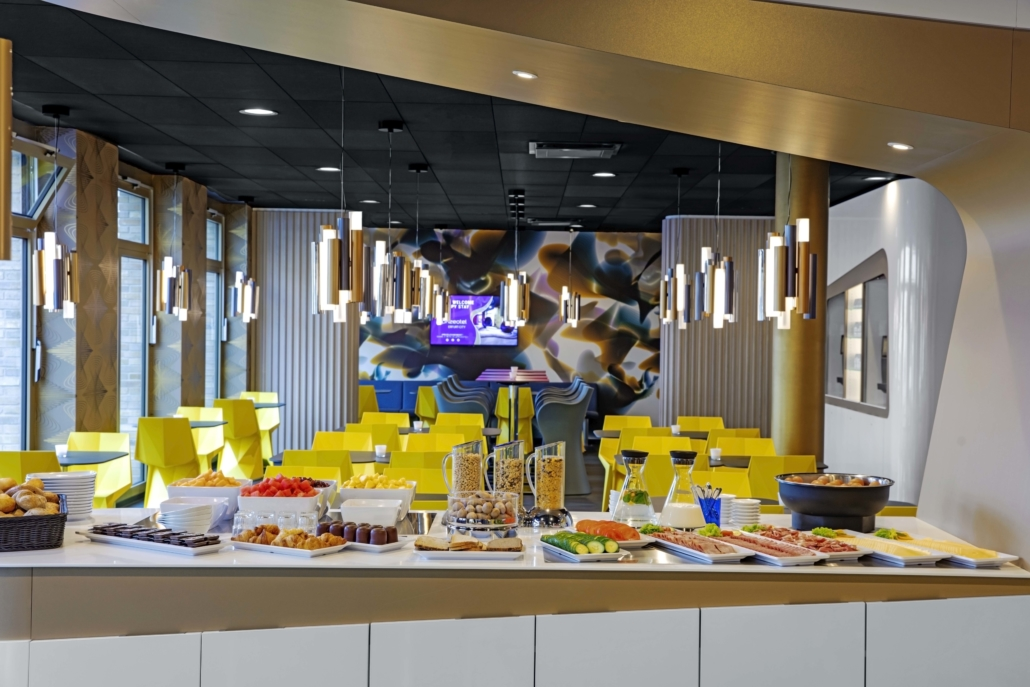 Das Frühstücksbuffet im prizeotel Erfurt