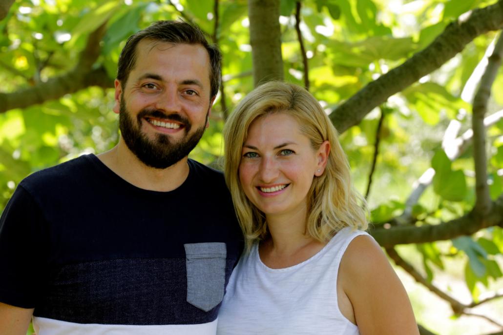 Das Gründerpaar Julian Berhang und Elena Sarri-Berhang (Foto: Yammbits)