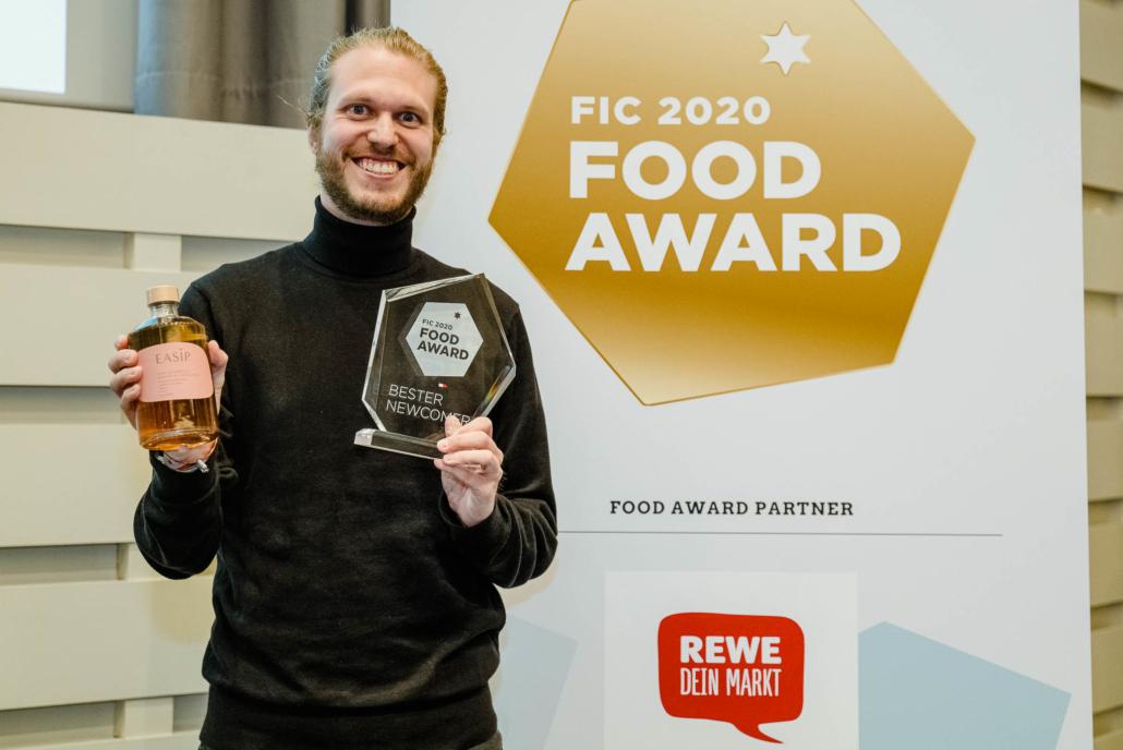 Easip beim Food Award