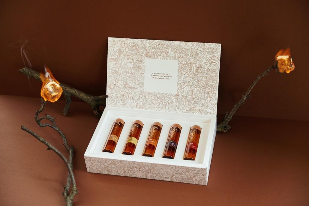 Tastillery Probierpaket in Food-Boxen