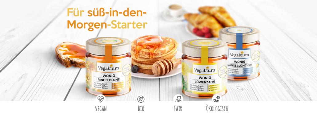 Honey alternatives in various varieties (Photo: Vegablum)