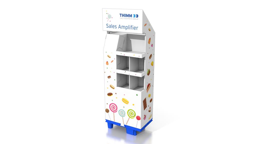 Der Sales Amplyfier ist das Standardmodell eines Displays.