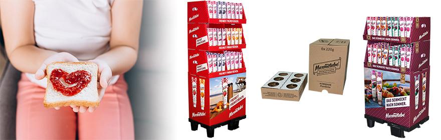 Verpackungs- und Displaylösungen von THIMM für Marmetube