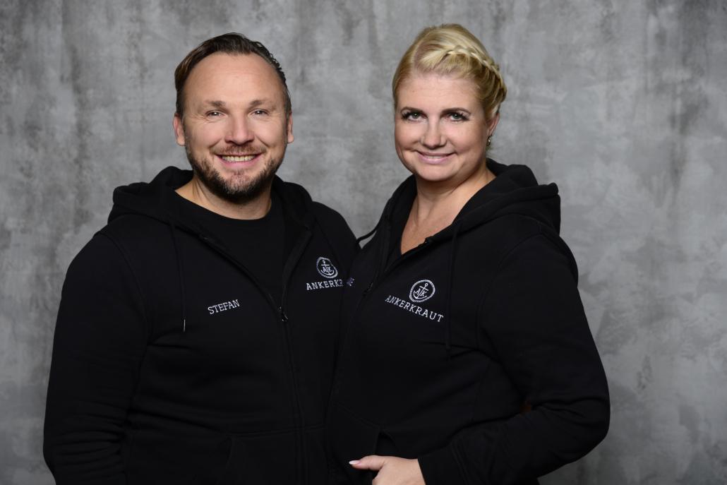Stefan und Anne Lemcke von Ankerkraut (Foto: Michaela Kuhn)