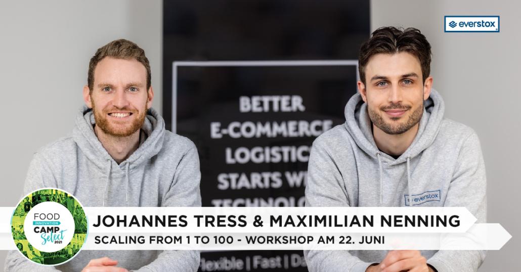 Der Werbebanner für den eversox-Workshop mit Johannes Tress und Maximilian Nenning.
