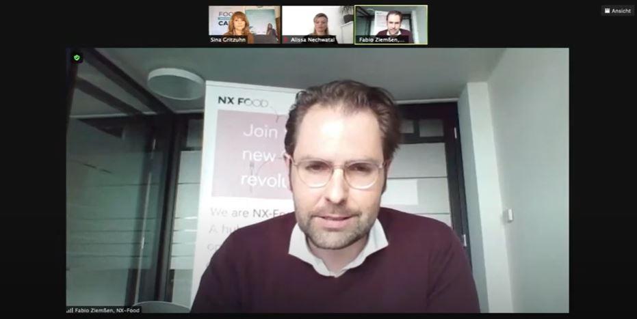 Jury-Mitglied Fabio Ziemßen, CEO von NX-FOOD