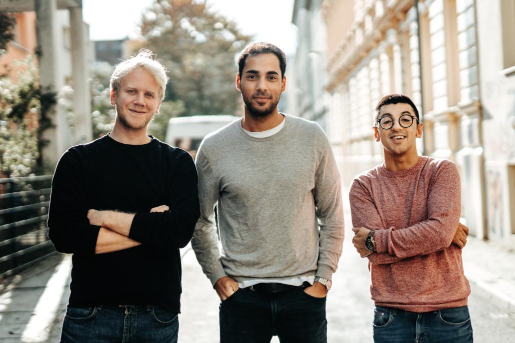 Das Führungstrio von KoRo: Florian Schwenkert, Piran Asci und Constantinos Calios.