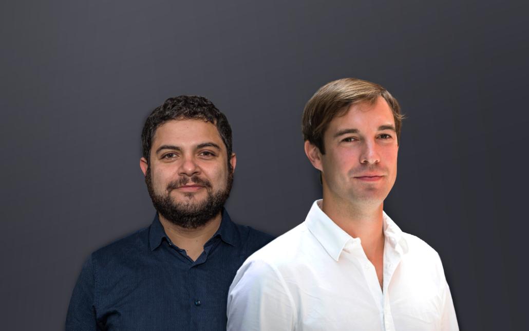 Die Pinaks-Gründer Camilo Wilisch und Sebastian Kreßner