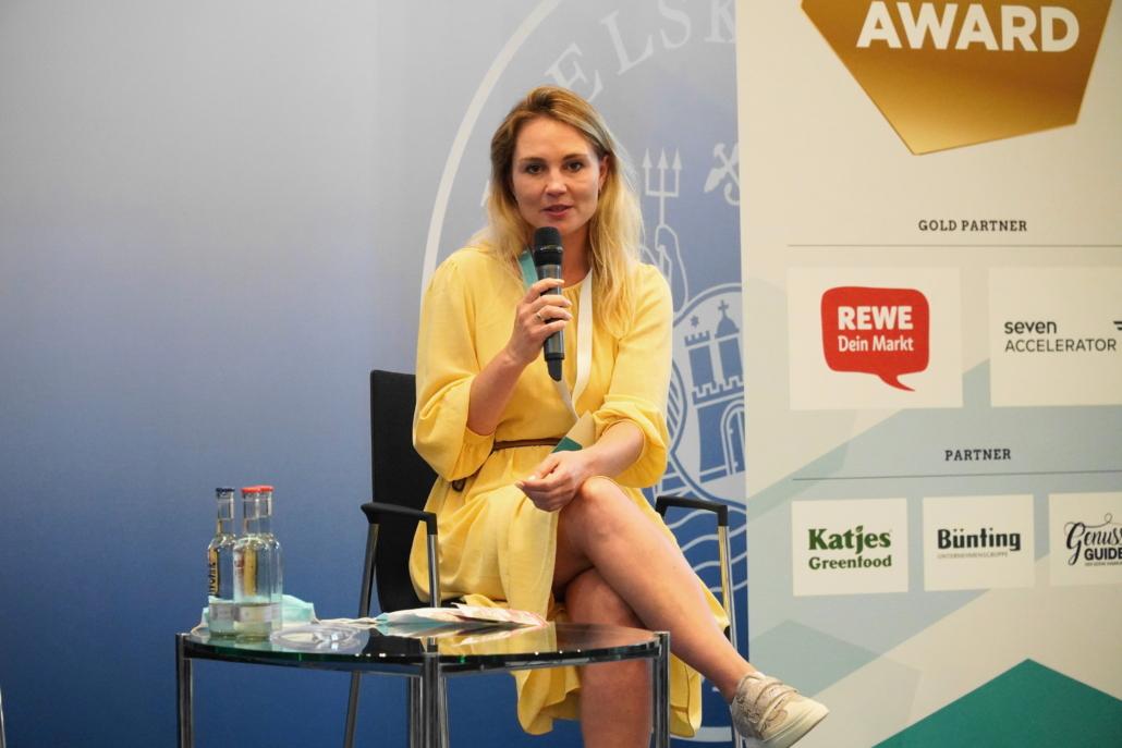 Marina Herter, Gründerin von HÄPPYSNÄX